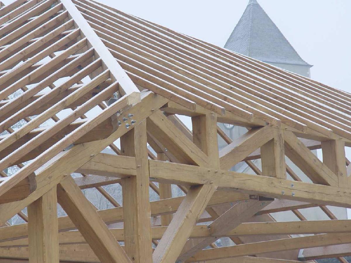 charpente bois non couverte obtenez des id es de design int ressantes en. Black Bedroom Furniture Sets. Home Design Ideas